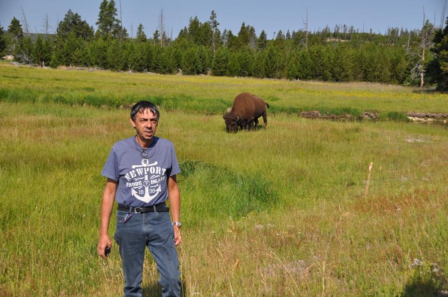Gianni e il bisonte