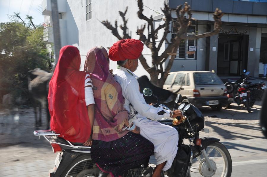 Guidare in india