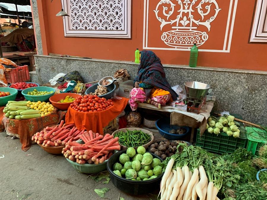 Jaipur cosa vedere Mercato