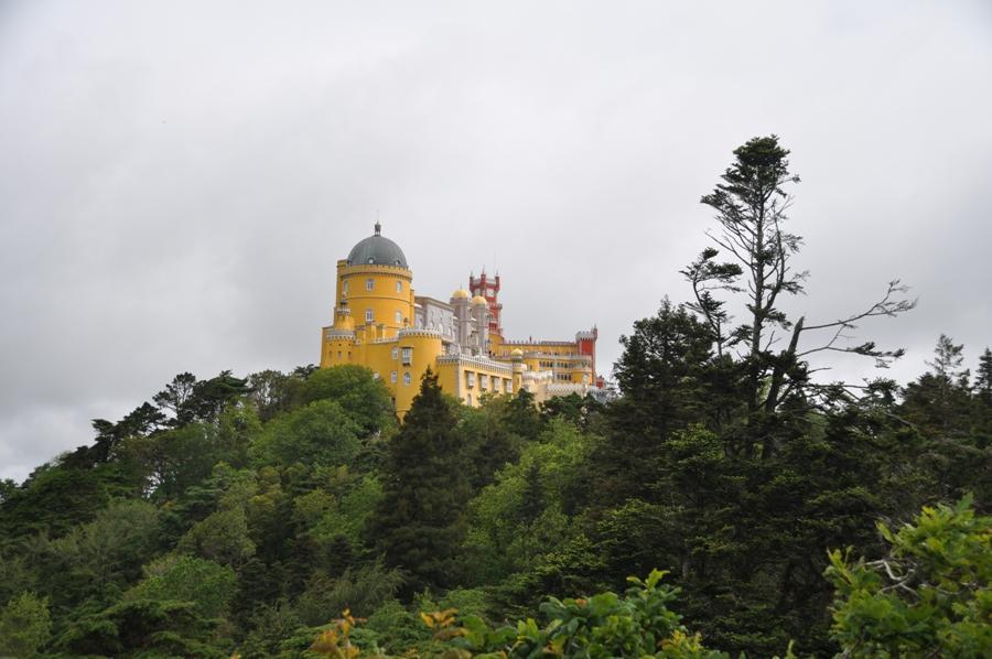 Vista del Palacio da Pena Sintra