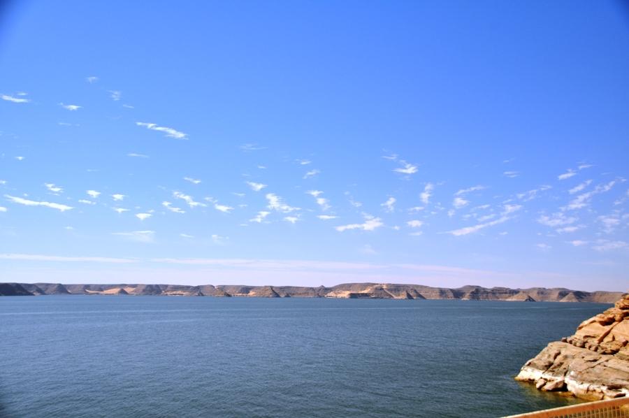 Il Lago Nasser visto da Abu Simbel
