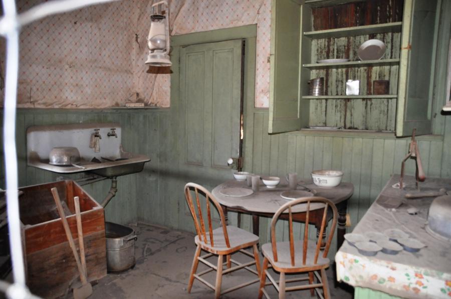 Cucina in una casa di Bodie