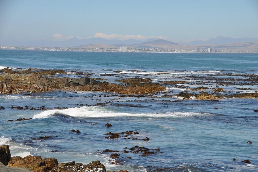 Cape Town vista da Robben Island