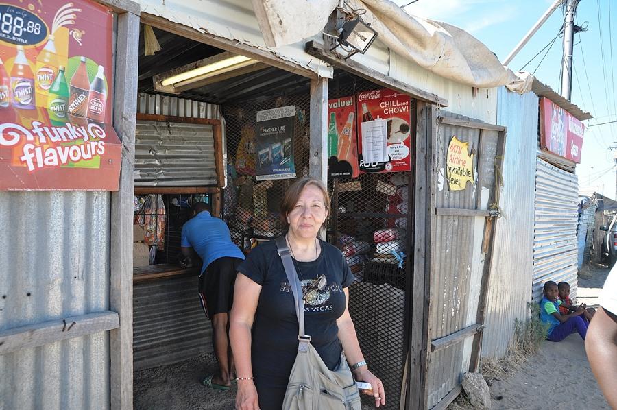 Nelle Township di Cape Town