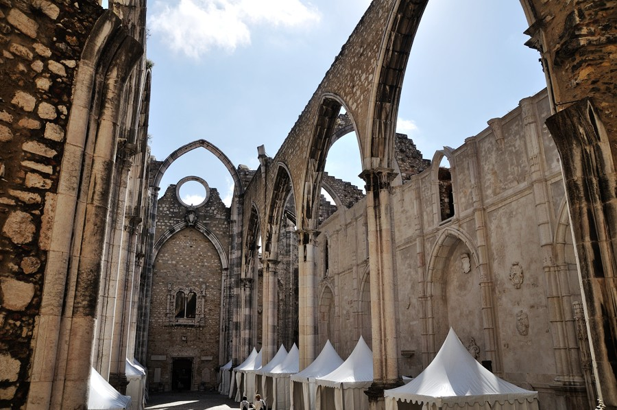 Lisbona Chiesa del Carmo
