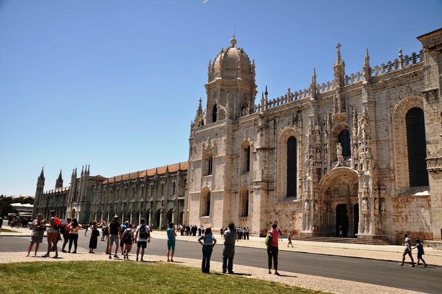 Monasterio de Los Jeronimos a Lisbona