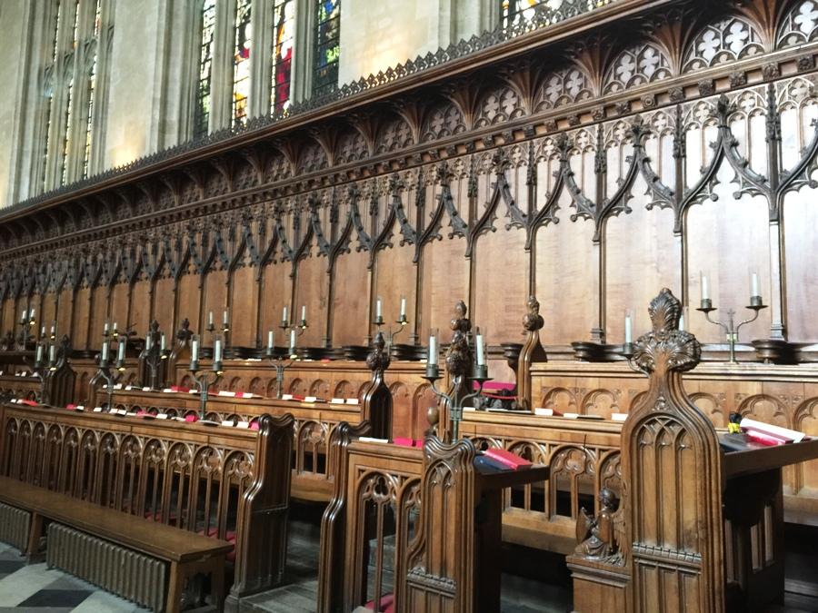 La Cappella del New College a Oxford