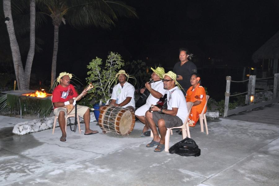 Polinesia Suonatori a Tikehau