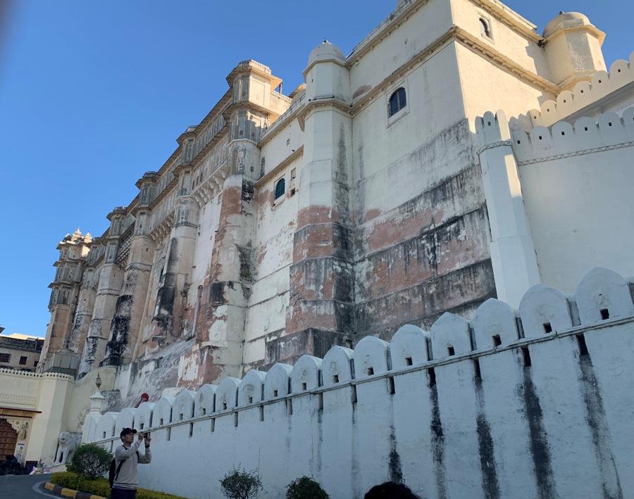 Il City Palace a Udaipur