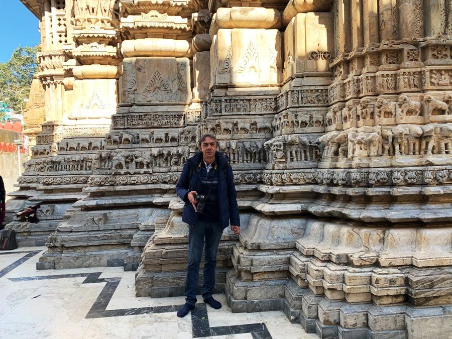 Dettaglio del Tempio Jagdish