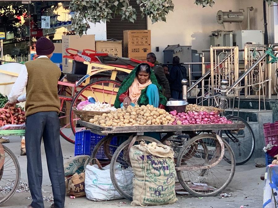 Mercato a Udaipur