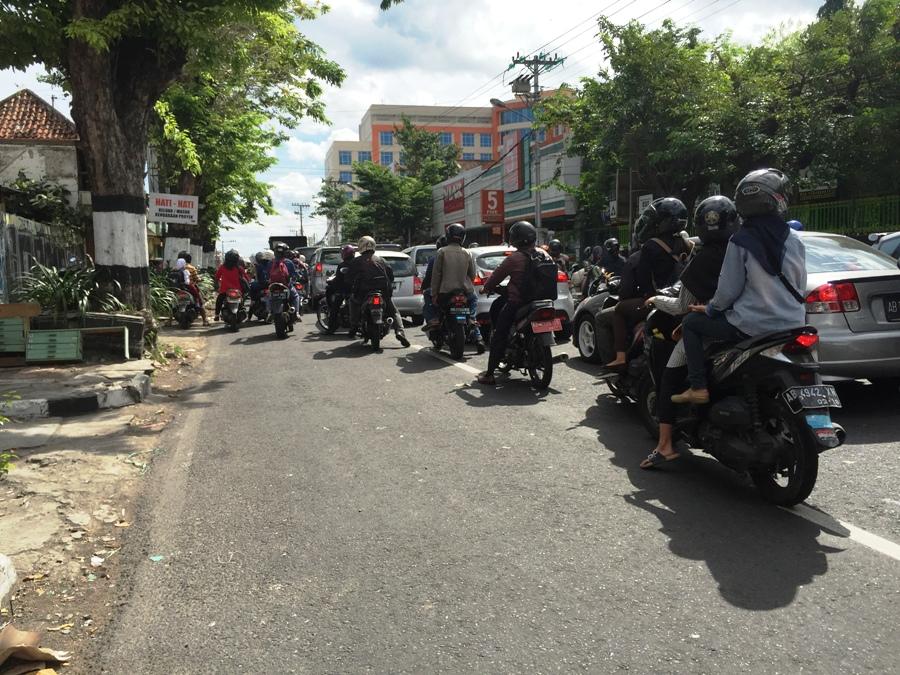 Traffico a Yogyakarta