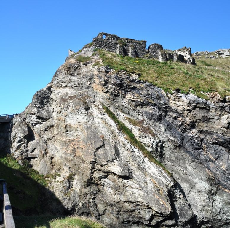 Viaggio in Cornovaglia Ruderi del Castello di Re Artù