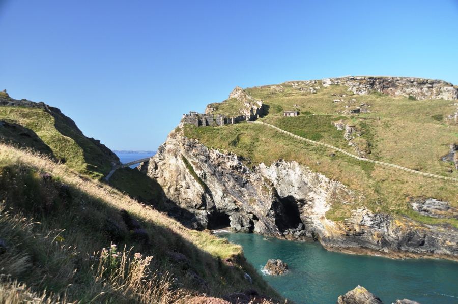 Tintagel La Grotta di Merlino