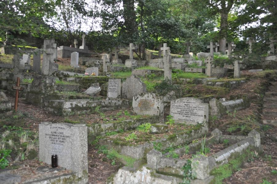 Viaggio in Cornovaglia Cimitero di St. Agnes