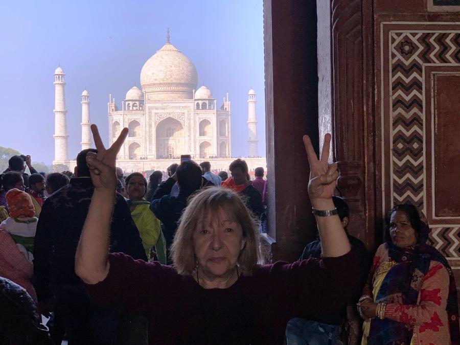 Evviva il Taj Mahal!