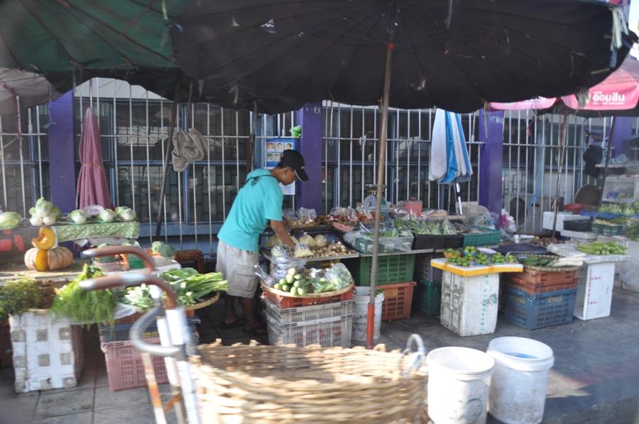 Mercato a Bangkok