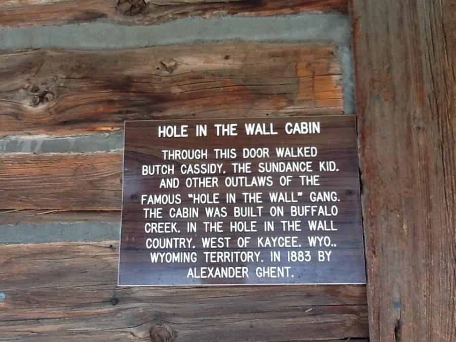 La baracca di  Butch Cassidy