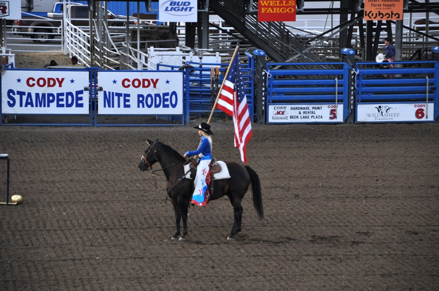 Rodeo a Cody