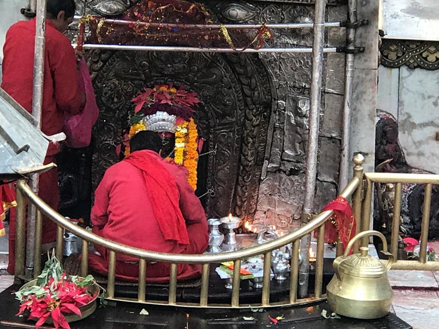La statua di Kali