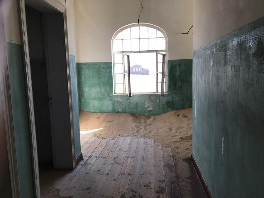L'ospedale di Kolmanskop