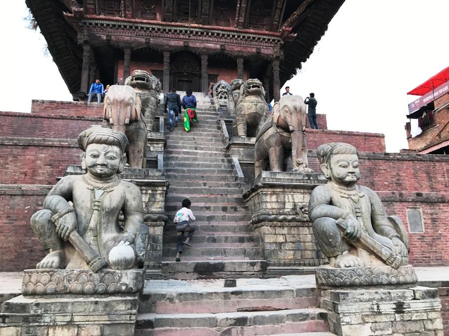 Tempio di Natyapola a Bhaktapur