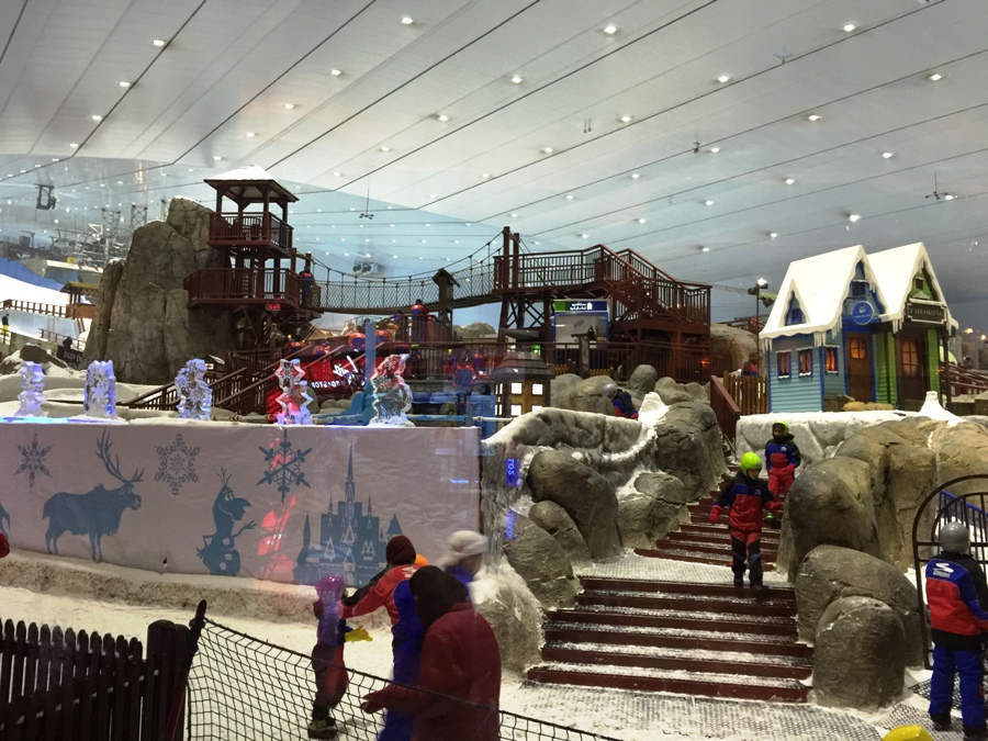 Pista da sci nel Mall of the Emirates