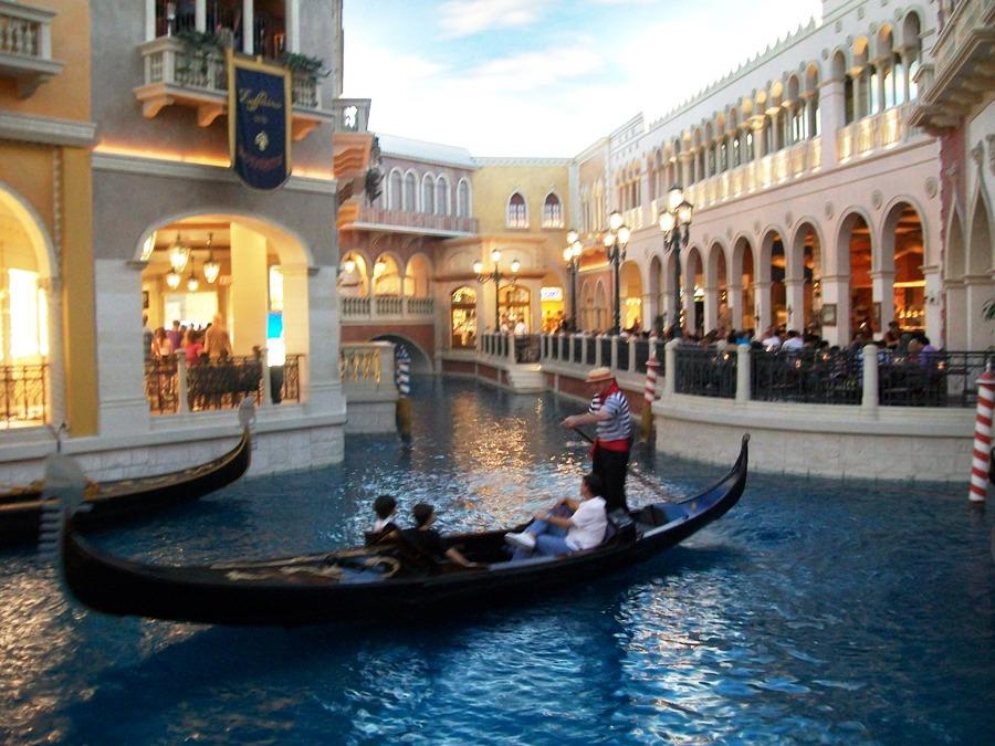 Interno dell'Hotel Venetian