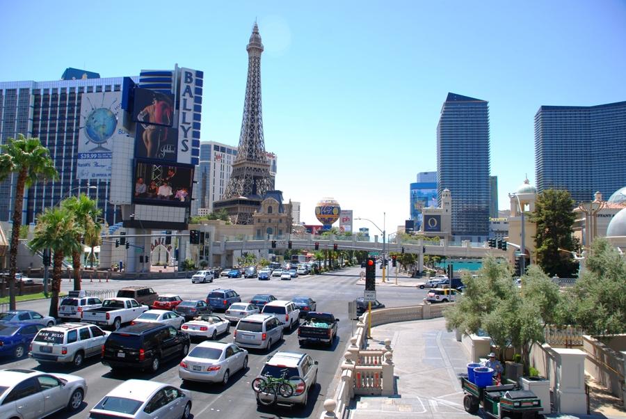 Lo Strip di Las Vegas