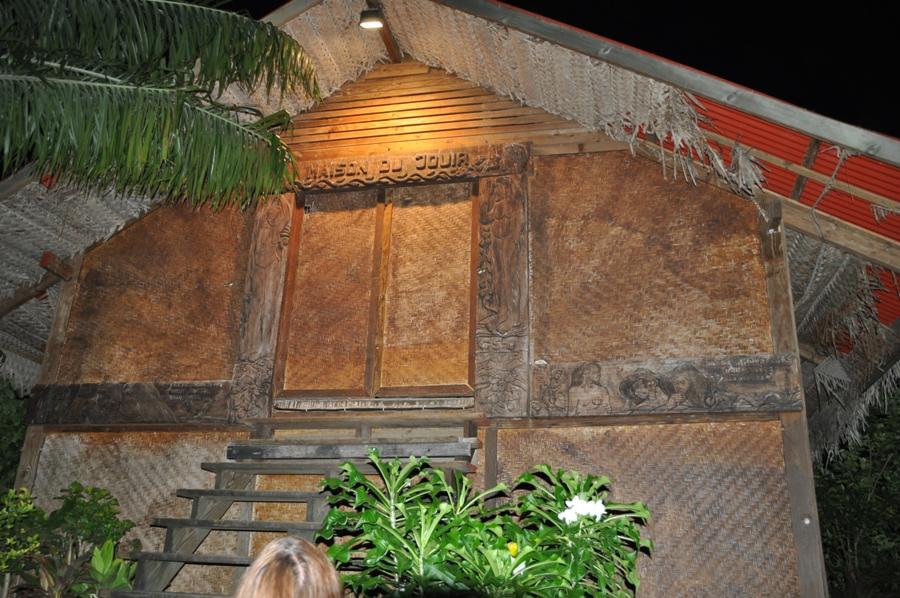 La riproduzione della casa di Gauguin