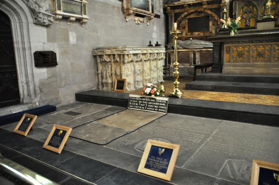 La tomba di William Shakespeare