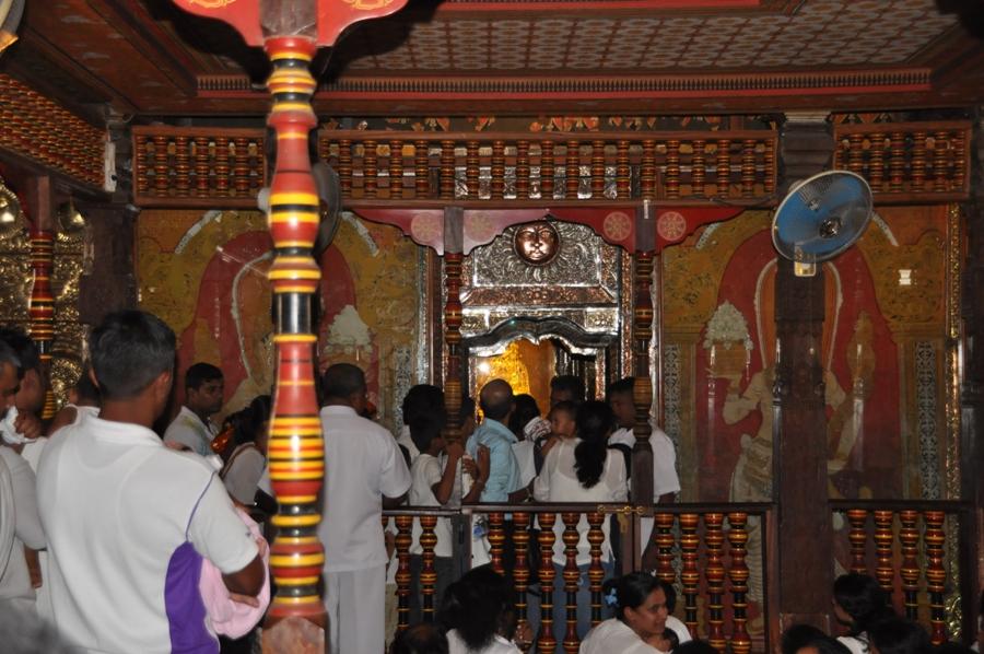 Fedeli nel Tempio