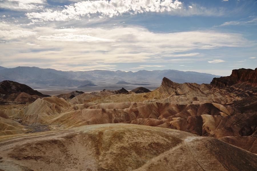 Panorama nella Death valley