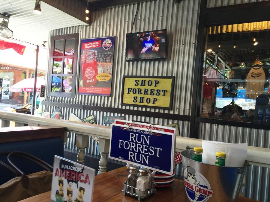 Uno dei ristoranti Bubba Gump Shrimps & Co