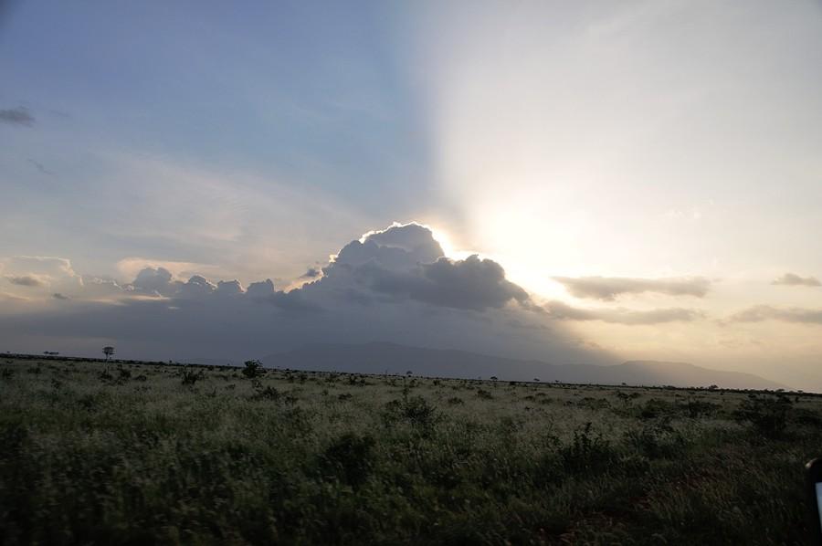 Tramonto a Tsavo Est