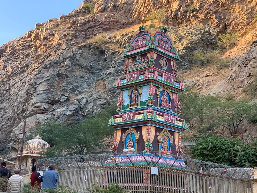 Un tempio colorato