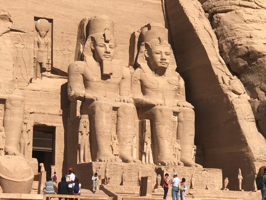 Visita al tempio di Abu Simbel