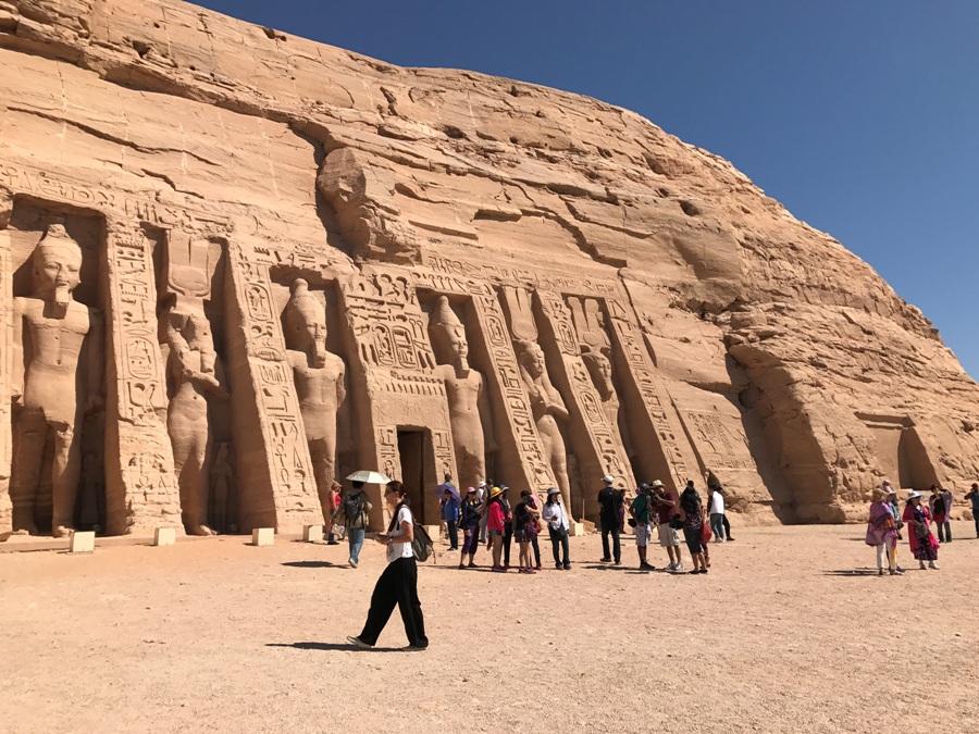Il tempio della Regina Nefertari