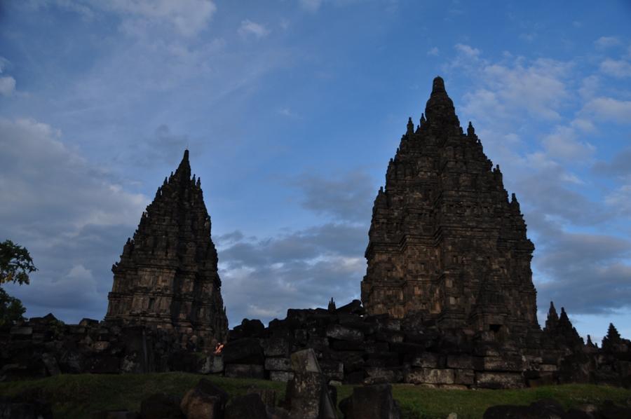 I templi nell'oscurità