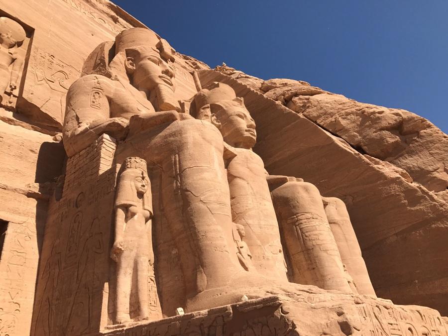 Visita del tempio di Abu Simbel