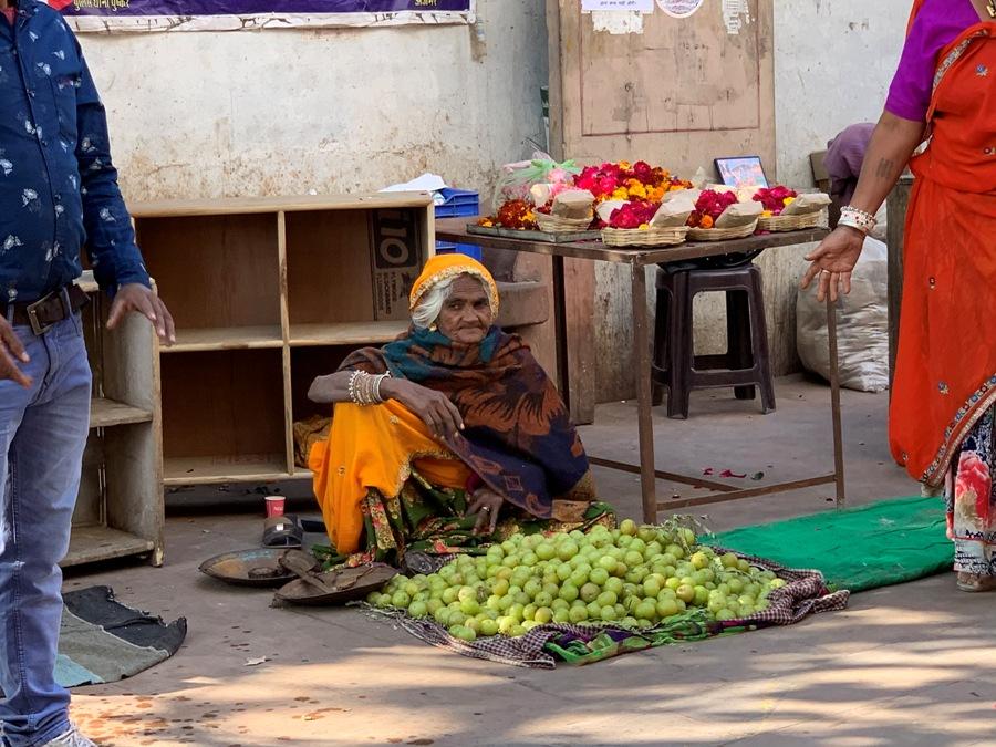 Nel mercato di Pushkar
