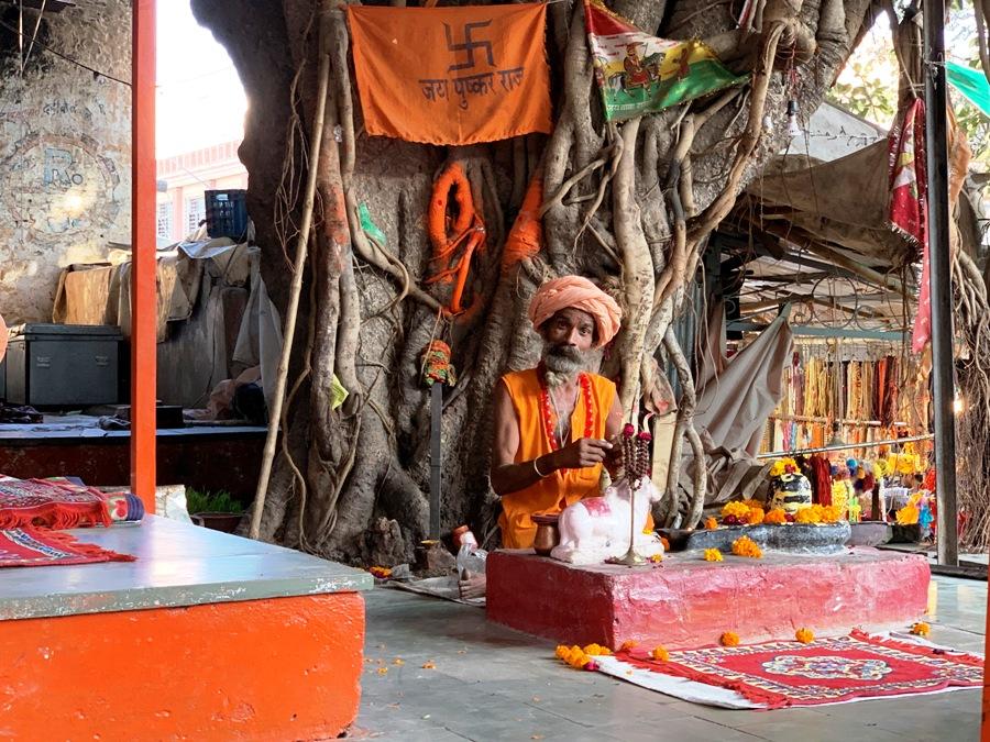 Santone a Pushkar