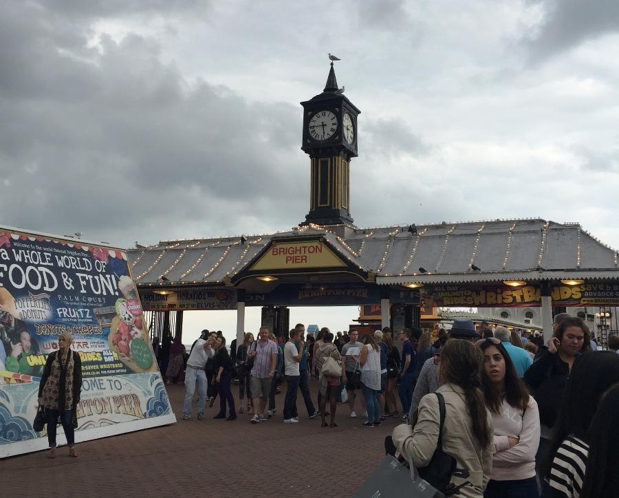 L'ingresso del Brighton Pier