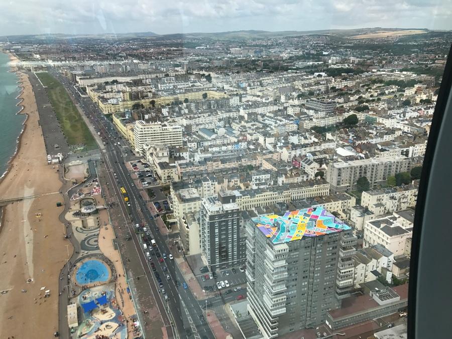 Brighton dall'alto
