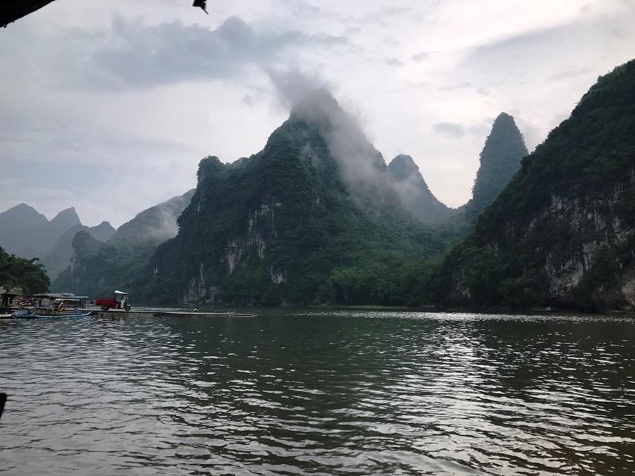 Guilin crociera sul fiume Li