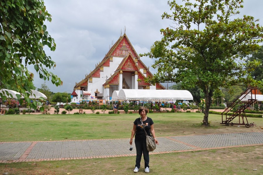 Tempio ad Ayutthaya
