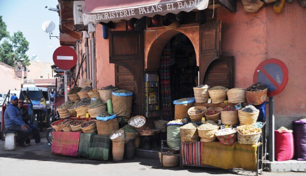 Negozio a Marrakech