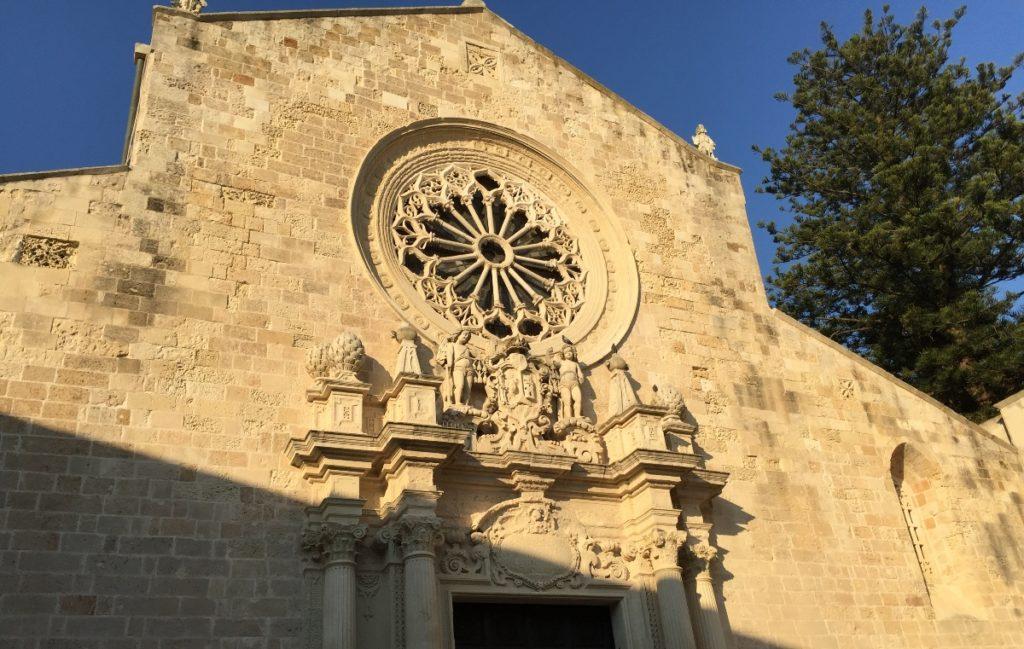 Cosa vedere a Otranto Dettaglio della Cattedrale