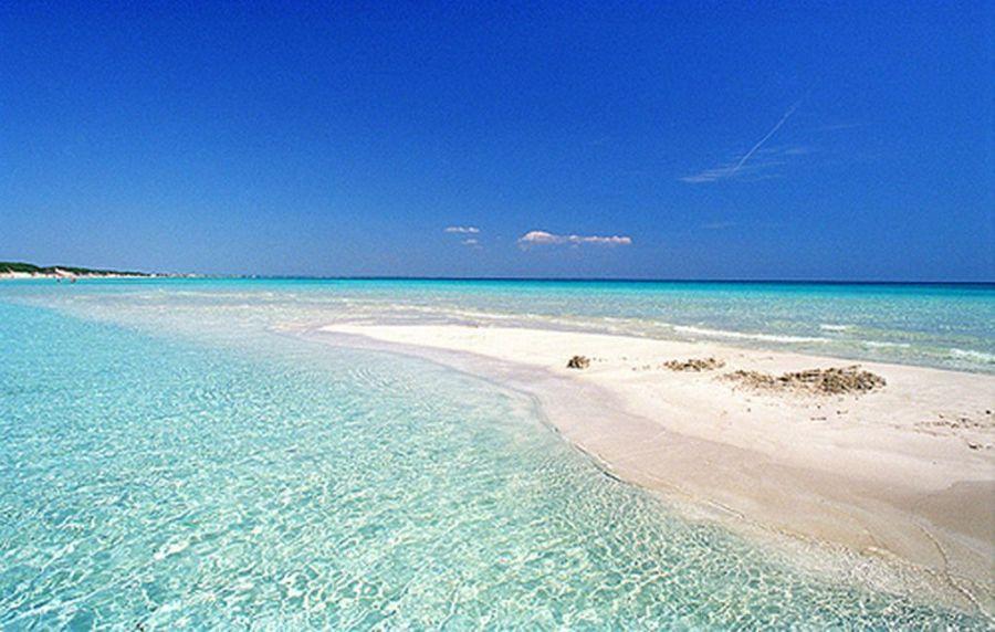 Le spiagge più belle del Salento Le Pescoluse