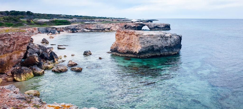 Le spiagge più belle del Salento Torre Specchia